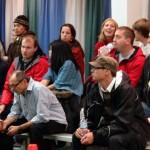 Iron Sketch spectators