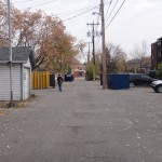 Laneway between 1 and 2 Avenue