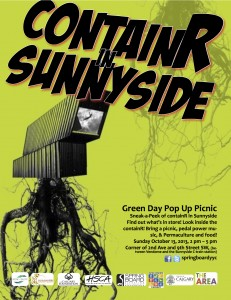 Sneak-a-Peak of ContainR In Sunnyside