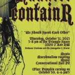 Haunted Halloween containR